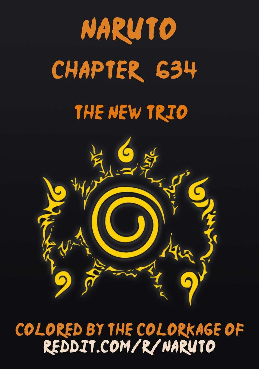 Naruto 634.1 Page 1