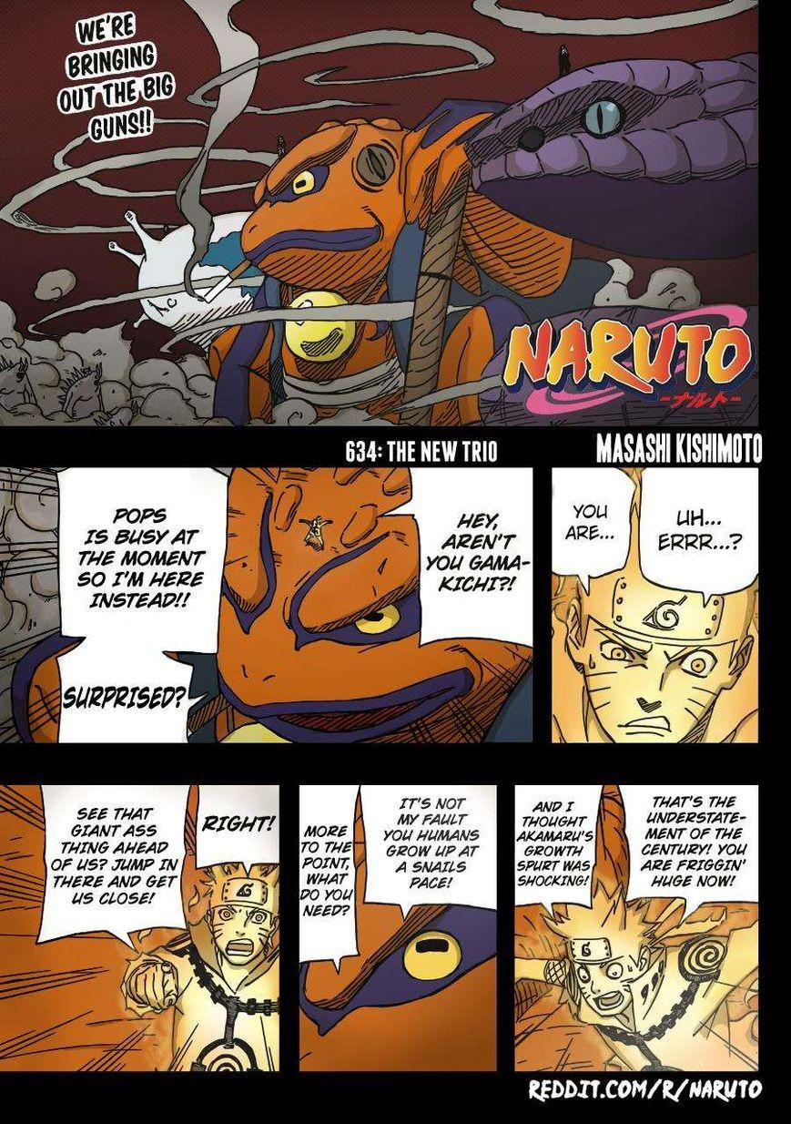 Naruto 634.1 Page 2