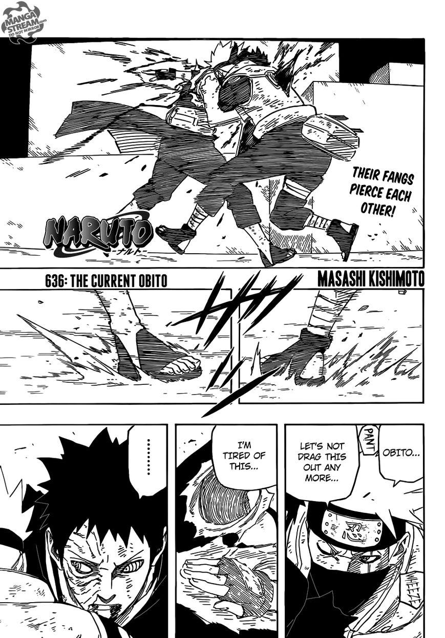 Naruto 636 Page 1