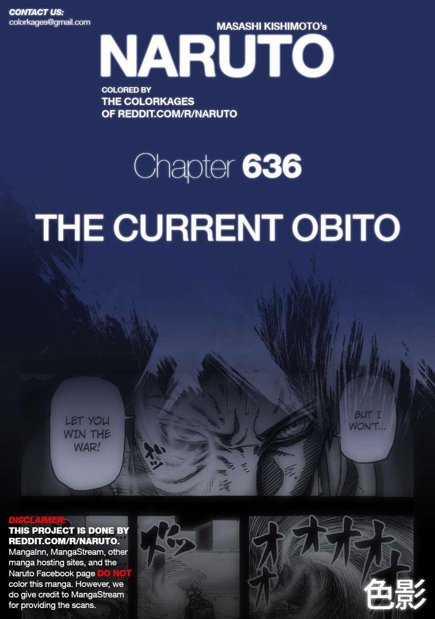 Naruto 636.1 Page 1