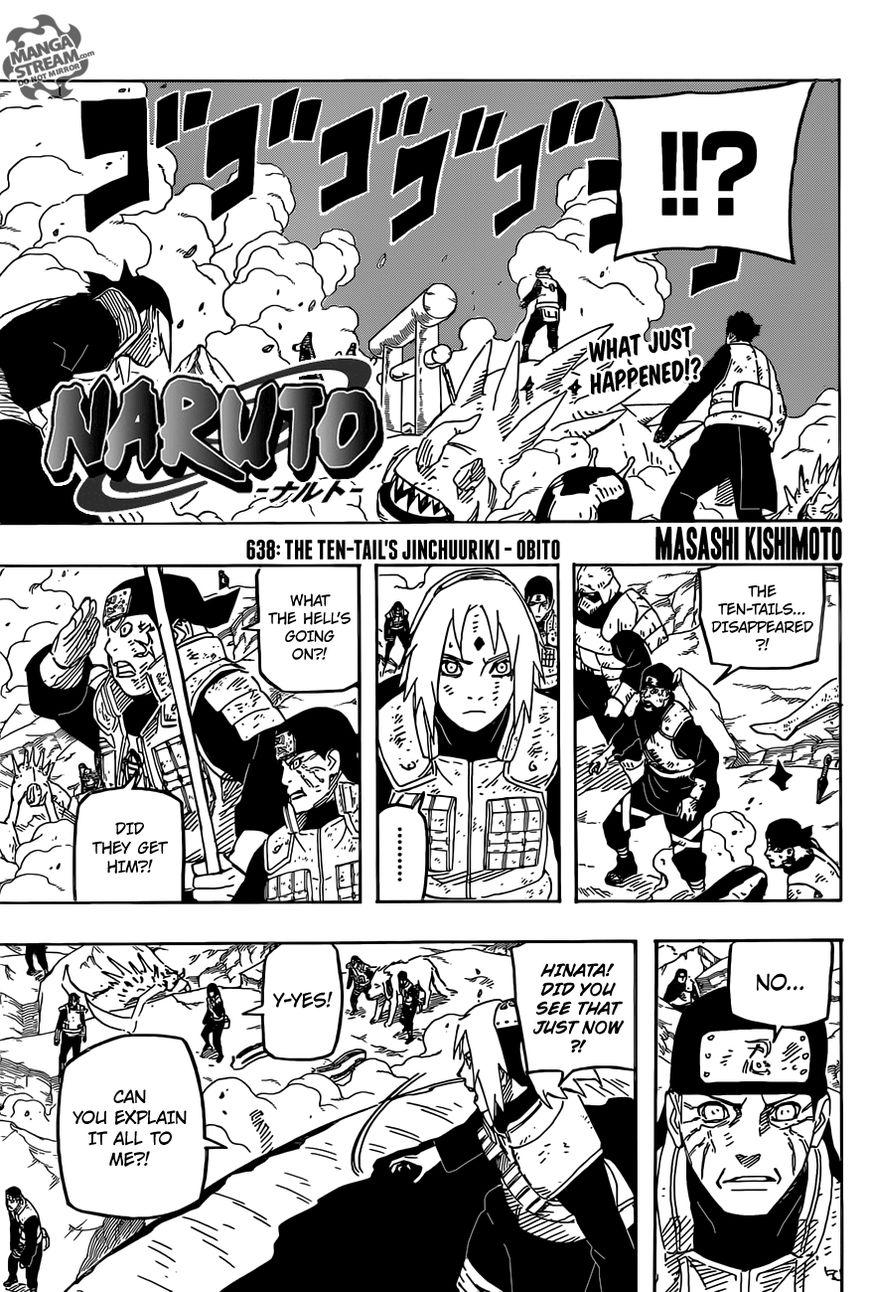 Naruto 638 Page 1
