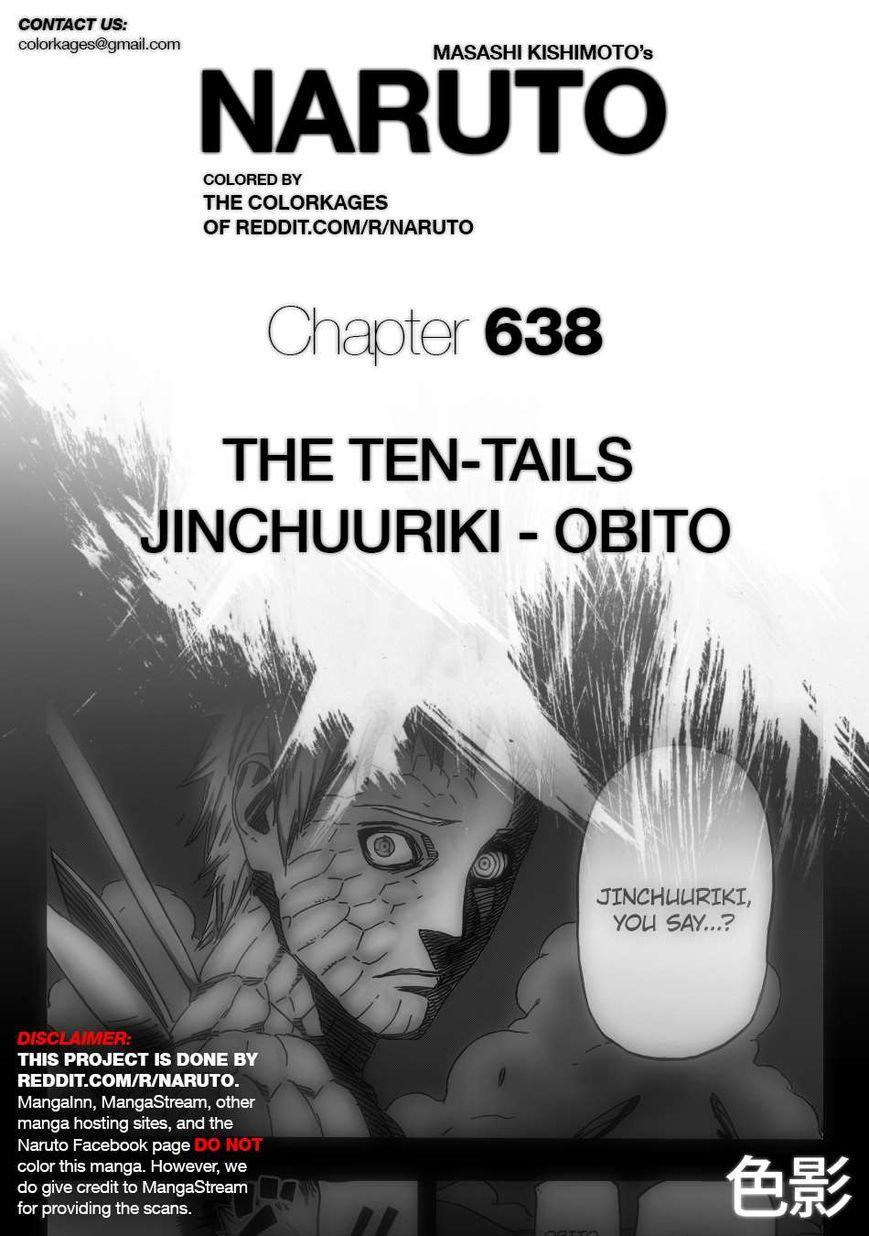 Naruto 638.1 Page 1