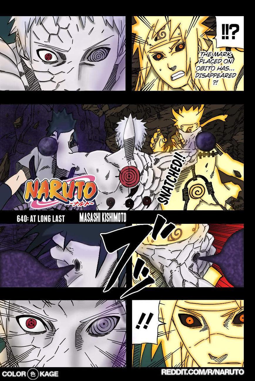 Naruto 640.1 Page 1