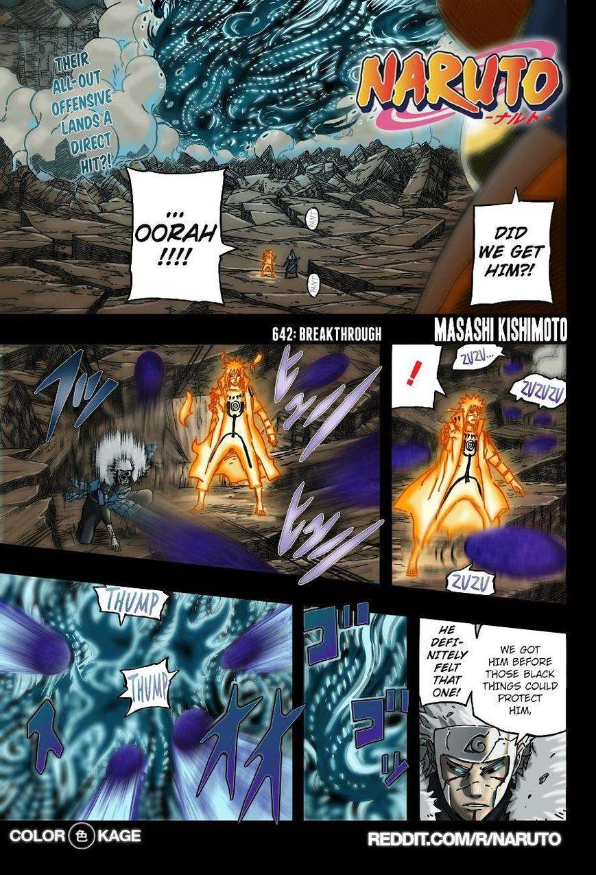Naruto 642.1 Page 2