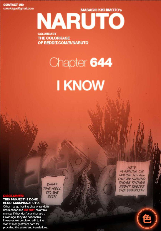 Naruto 644.1 Page 1