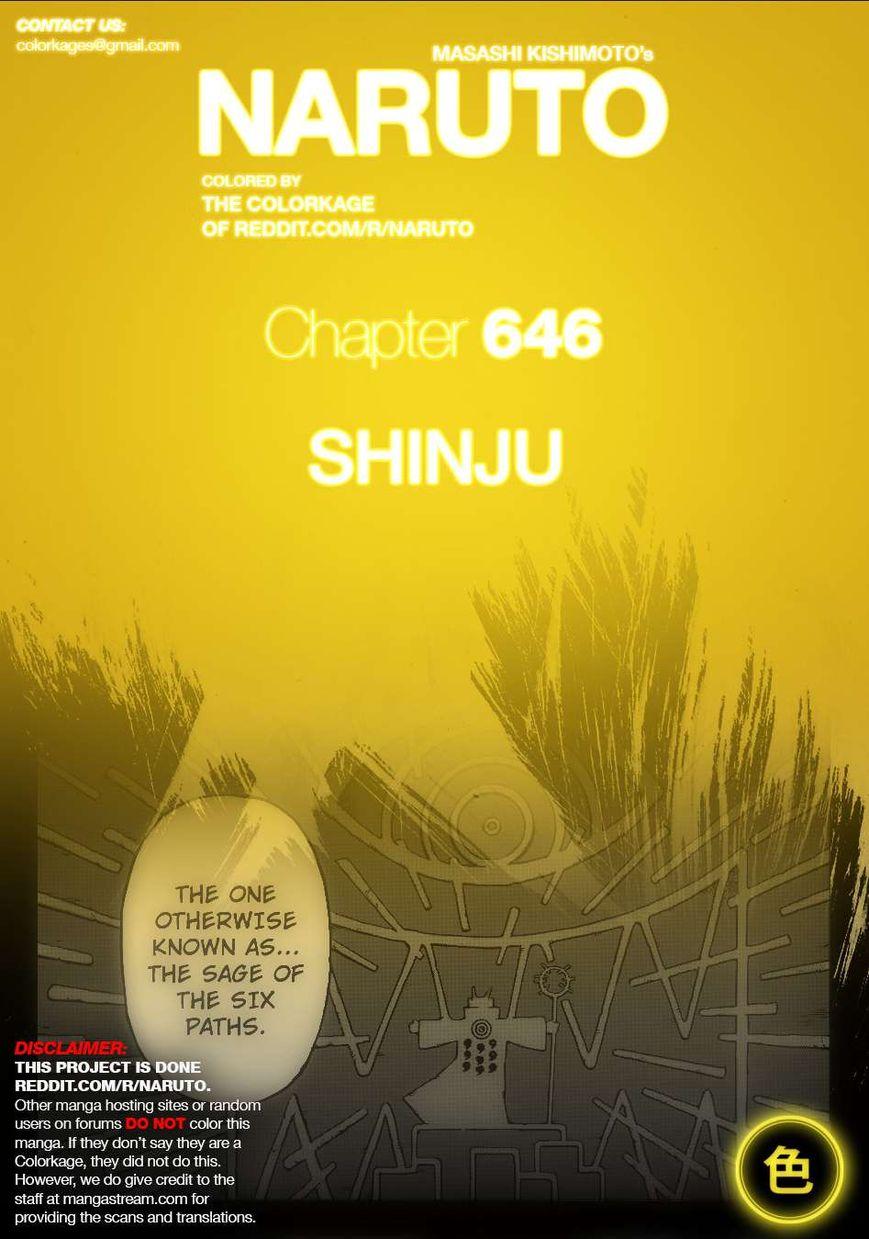 Naruto 646.1 Page 1