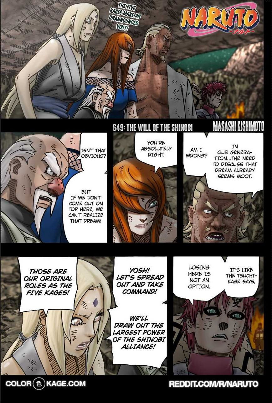 Naruto 649.1 Page 2