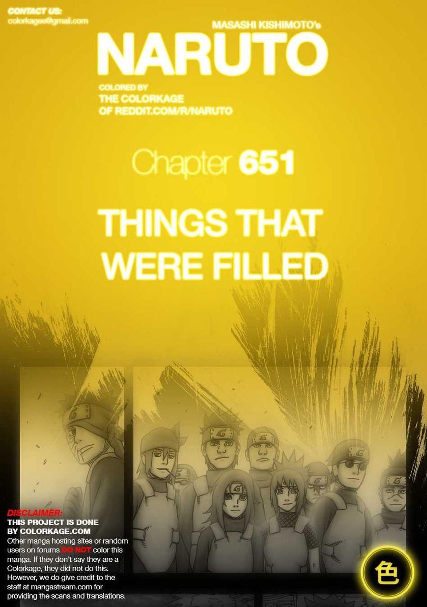 Naruto 651.1 Page 1