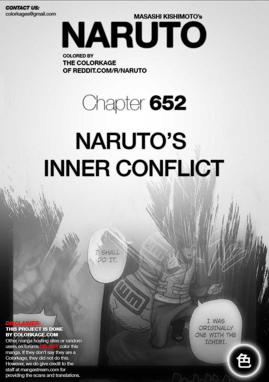 Naruto 652.1 Page 1