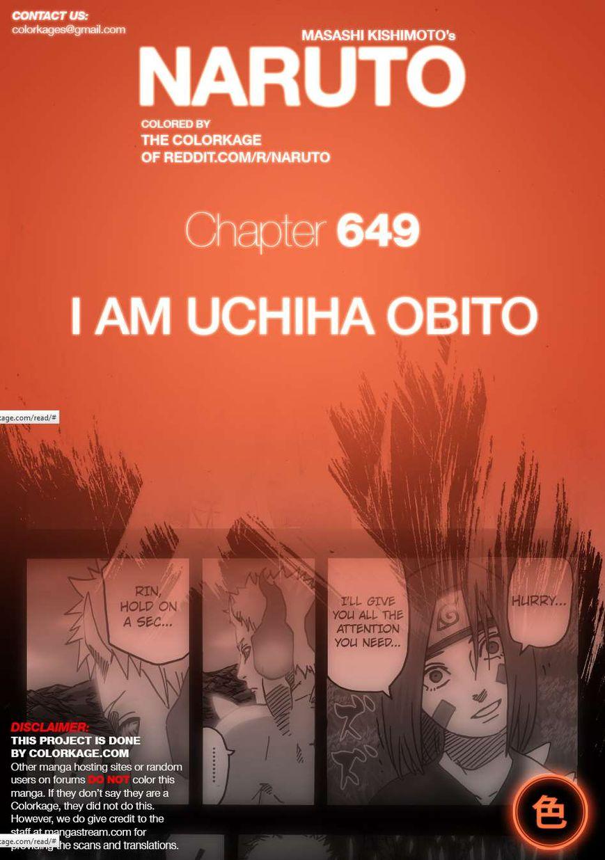 Naruto 654.1 Page 1