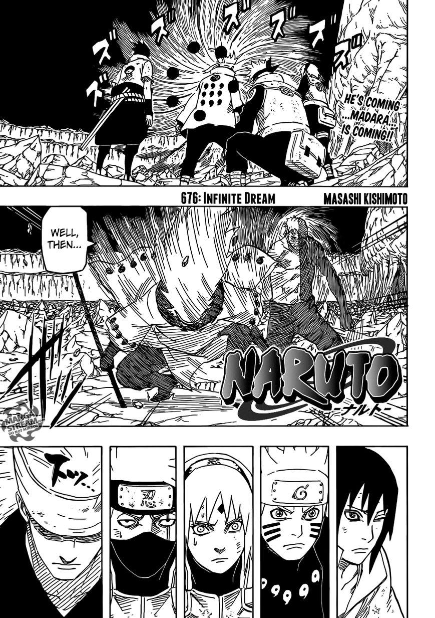 Naruto 676 Page 1