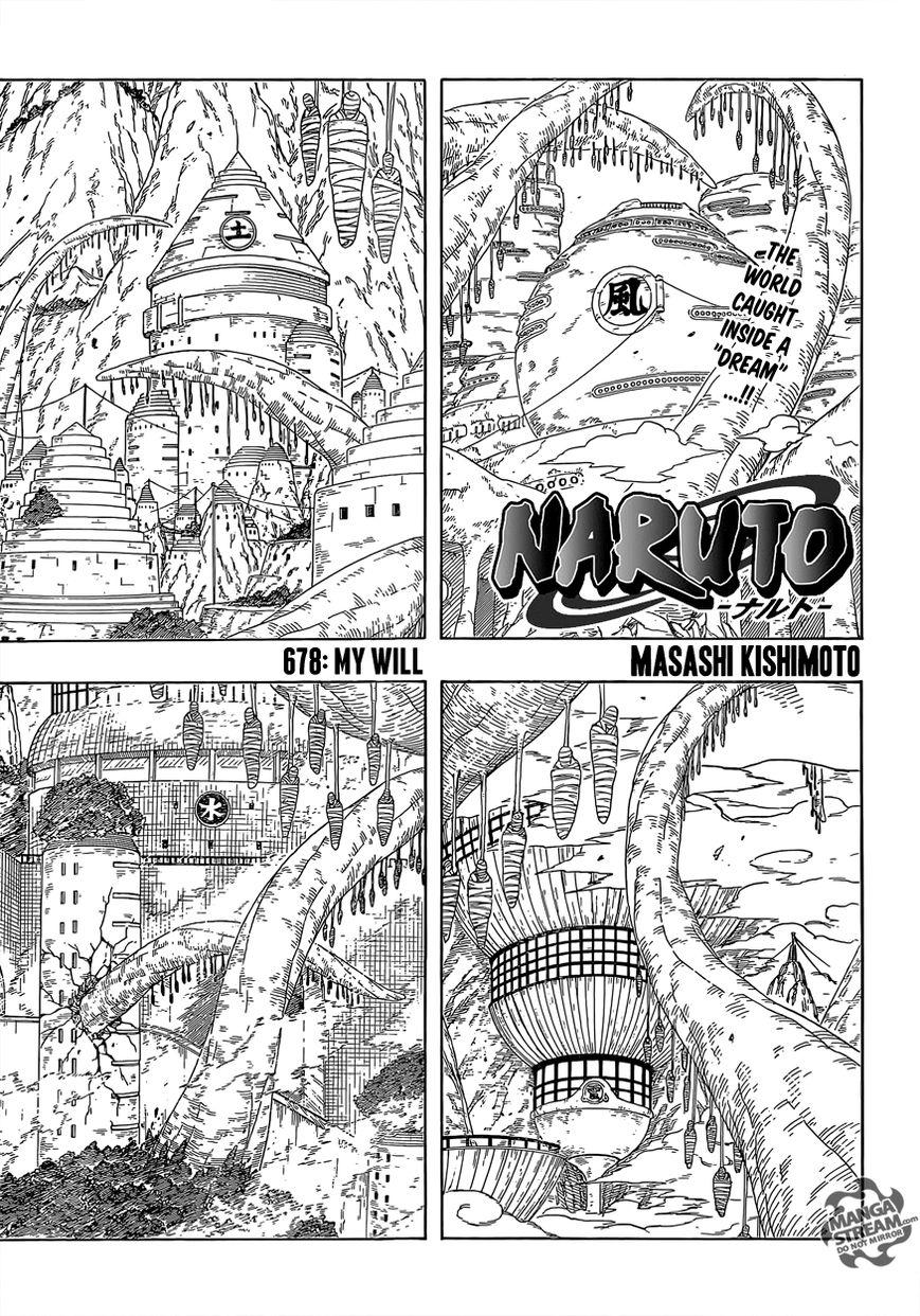 Naruto 678 Page 1