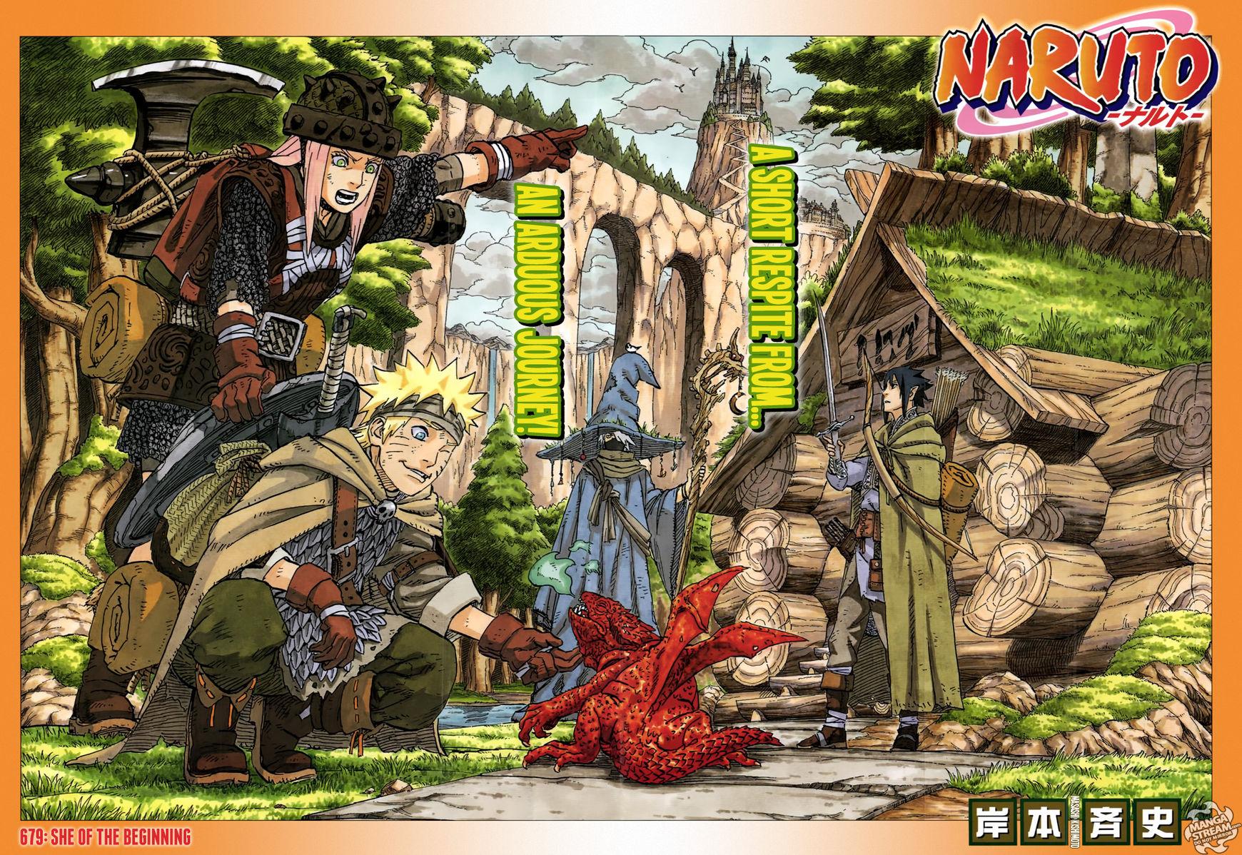 Naruto 679 Page 1