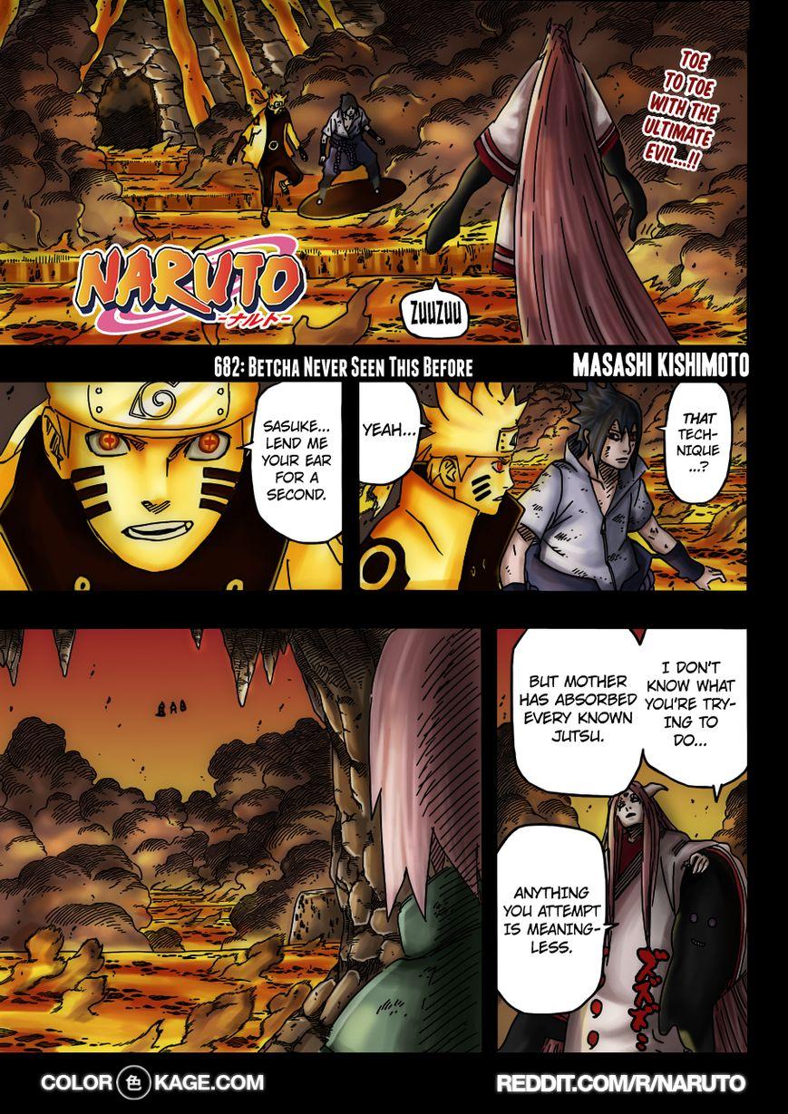 Naruto 682.1 Page 2