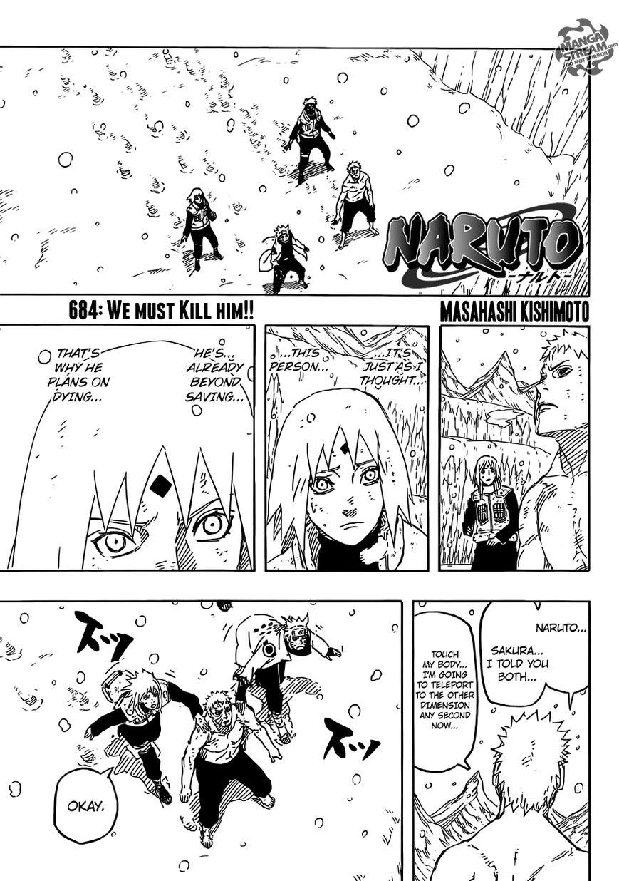 Naruto 684 Page 1