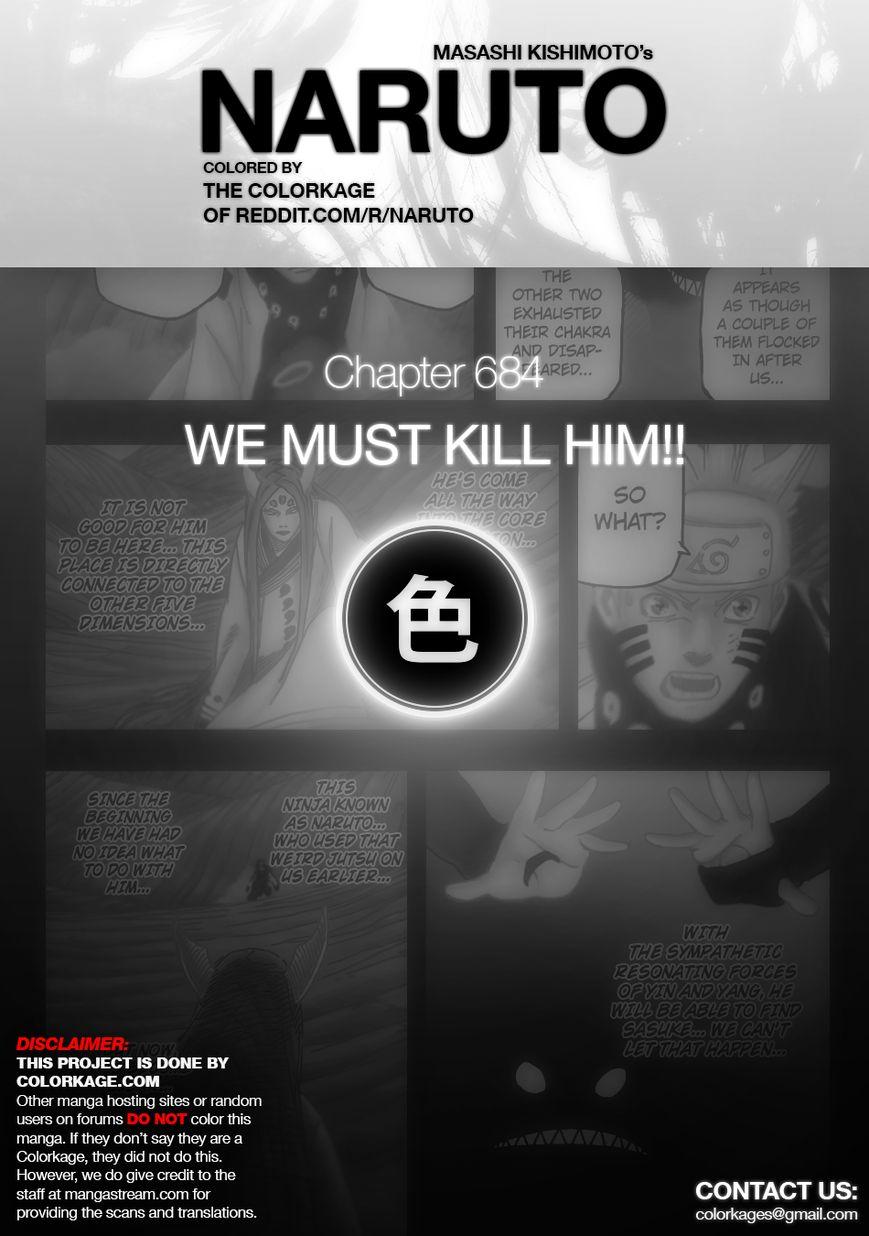 Naruto 684.1 Page 1
