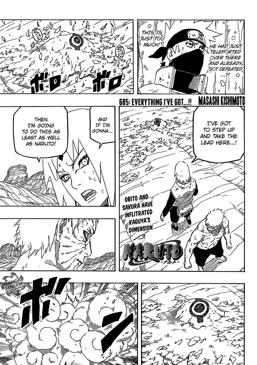 Naruto 685 Page 1