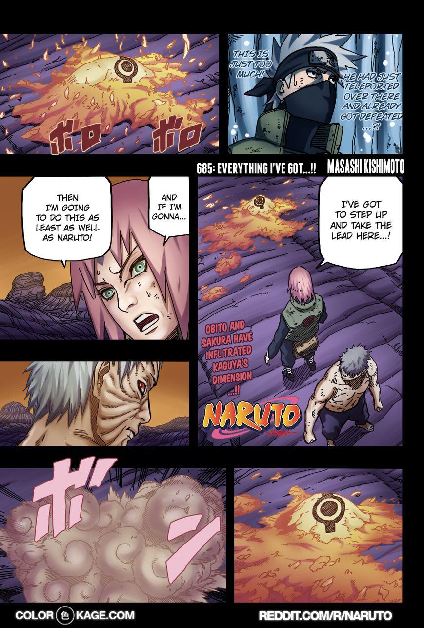 Naruto 685.1 Page 2