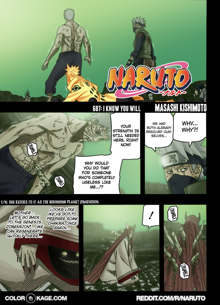 Naruto 687.1 Page 2