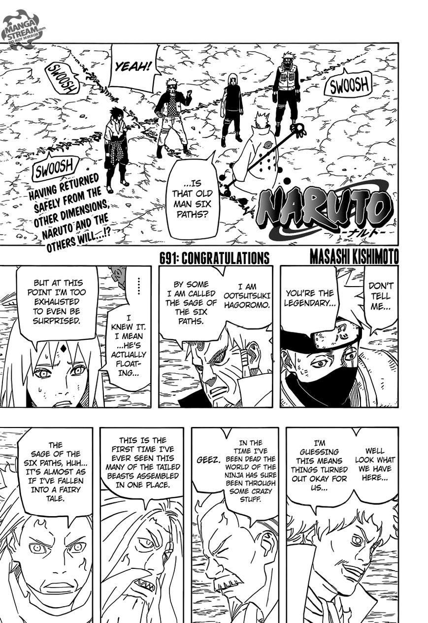 Naruto 691 Page 1