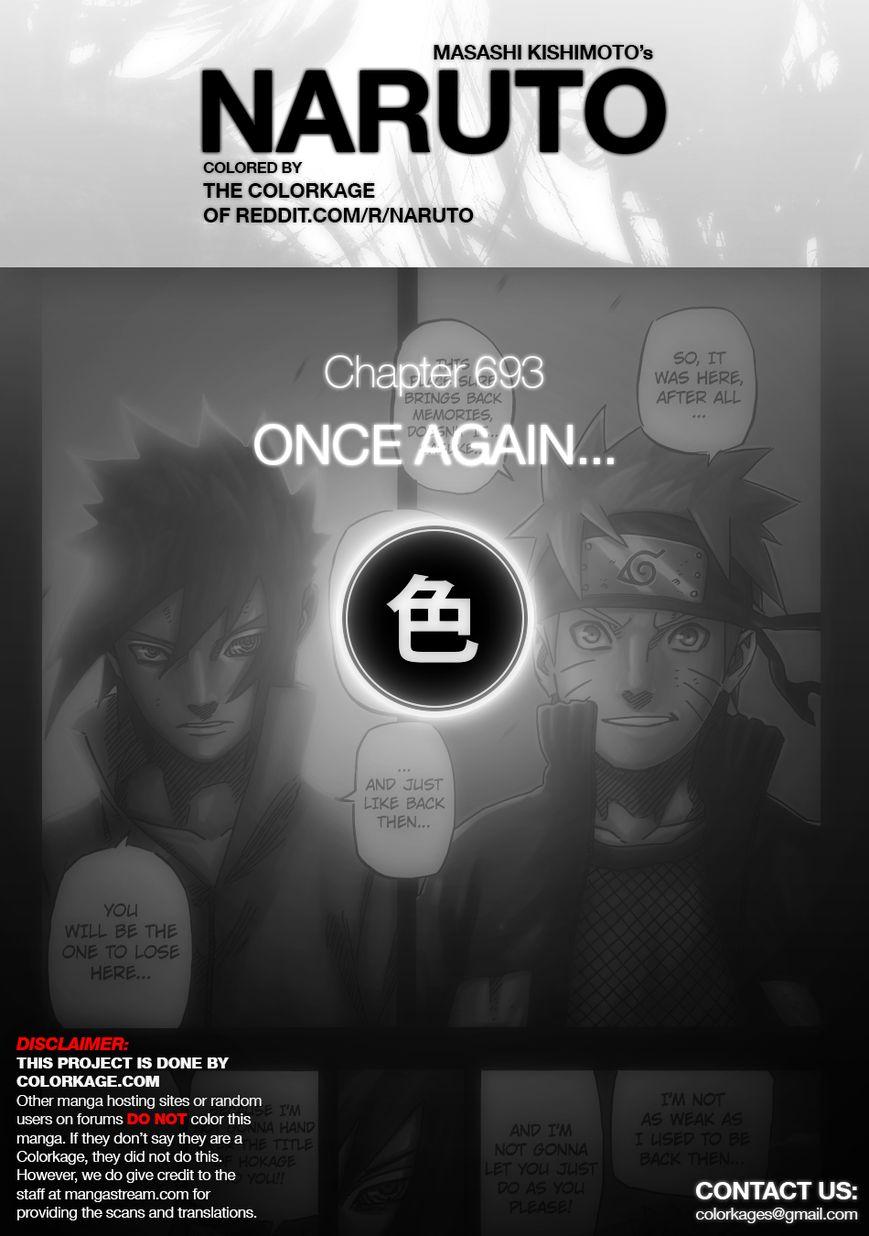 Naruto 693.1 Page 1