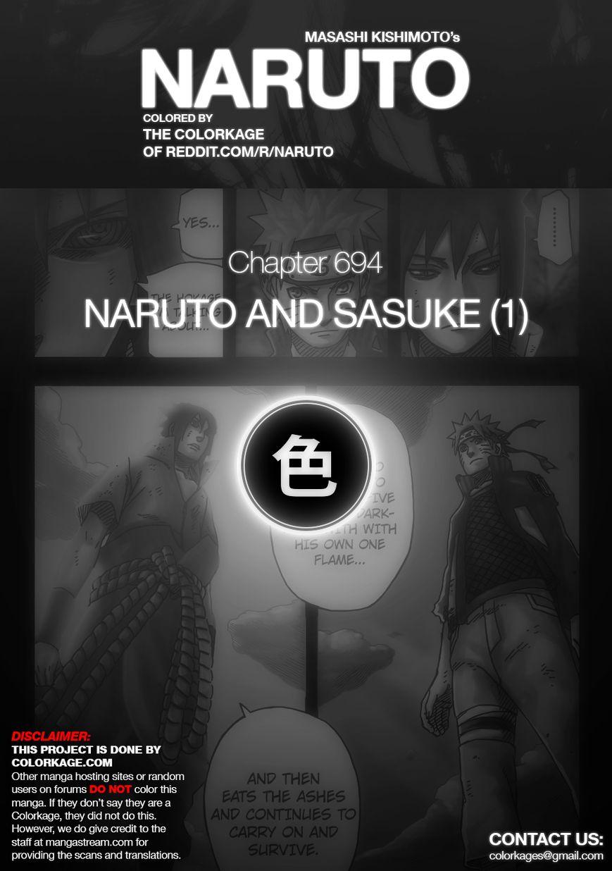 Naruto 694.1 Page 1