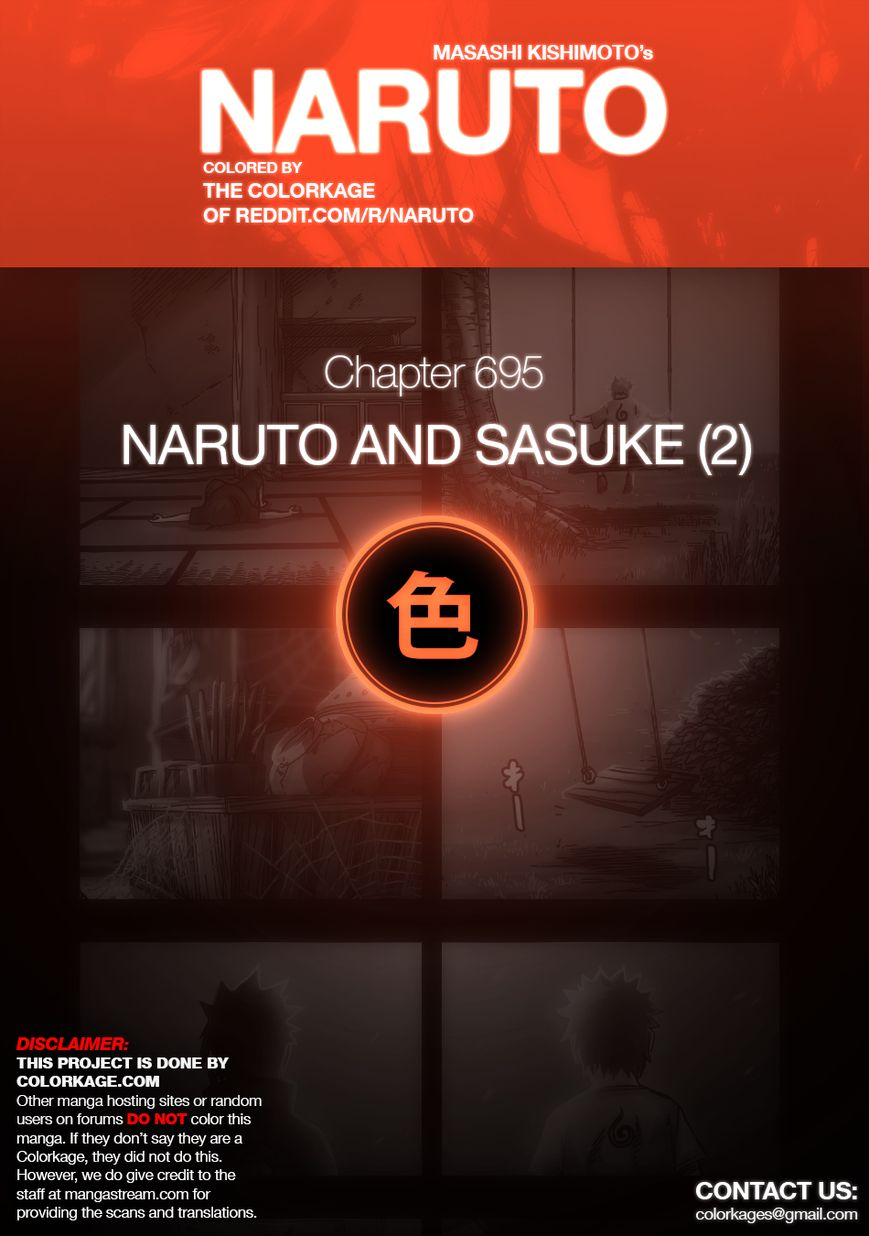 Naruto 695.1 Page 1