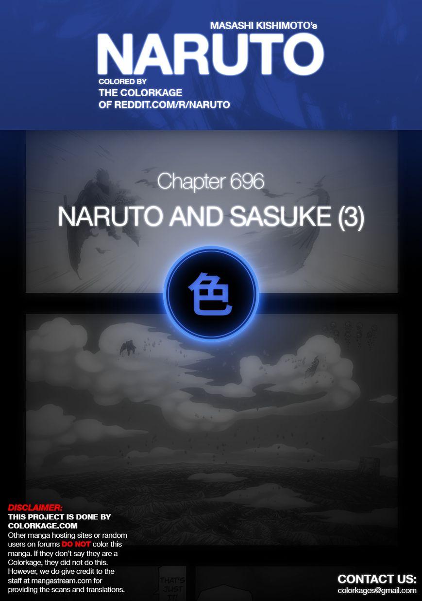 Naruto 696.1 Page 1