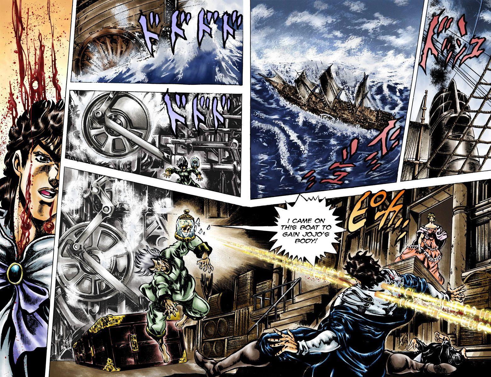 JoJo's Bizarre Adventure Part 1: Phantom Blood 43 Page 2