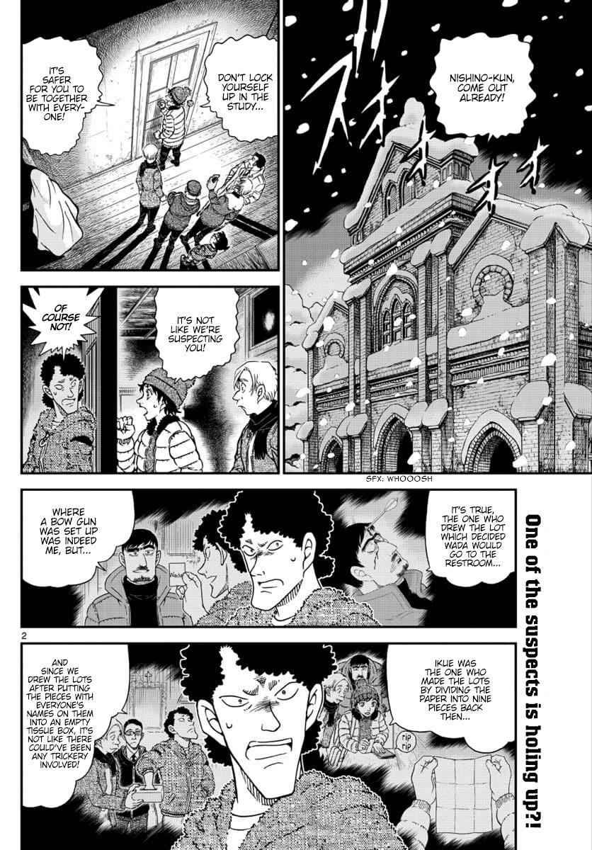 Detective Conan 1031 Page 2