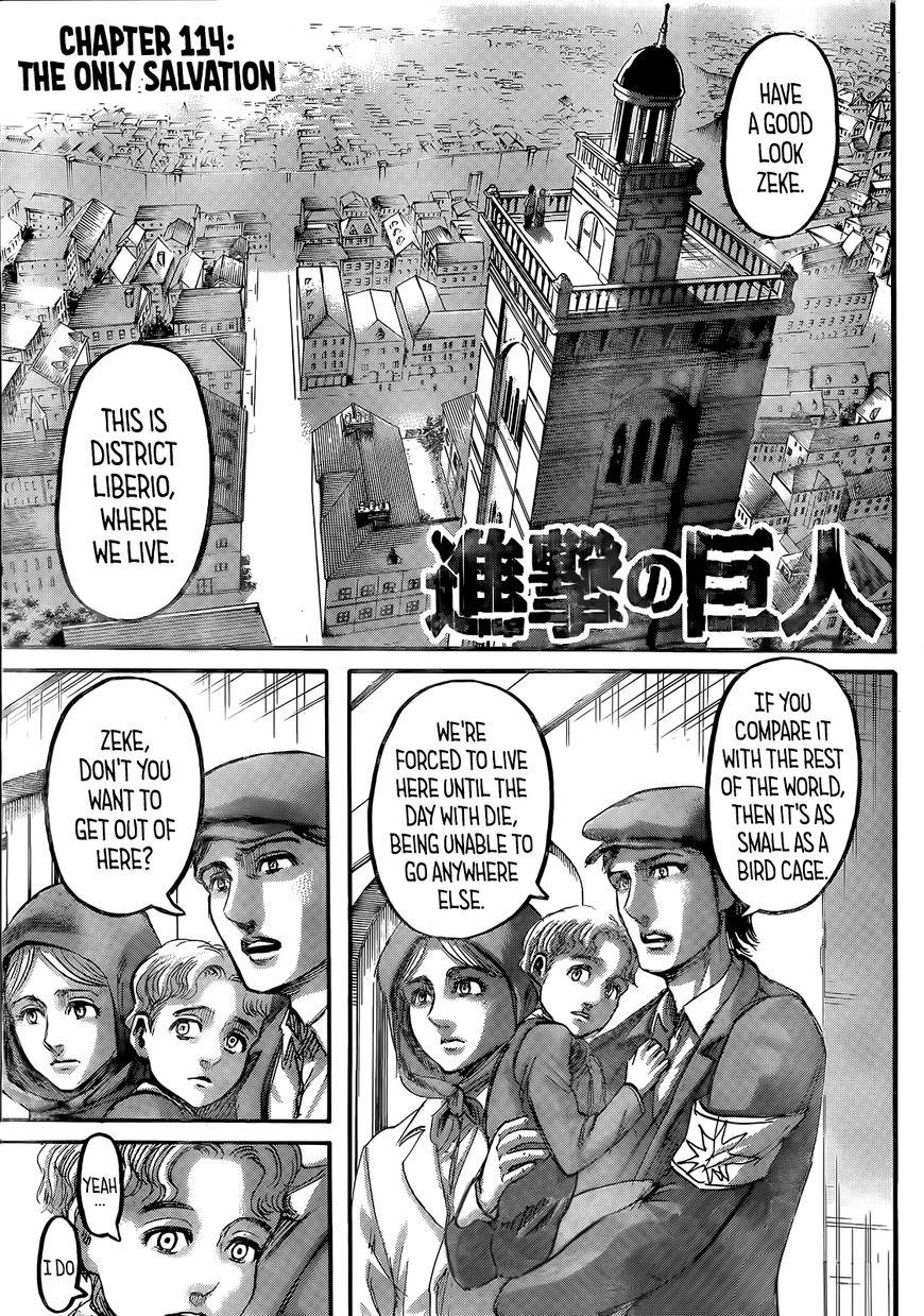 Shingeki no Kyojin 114 Page 2