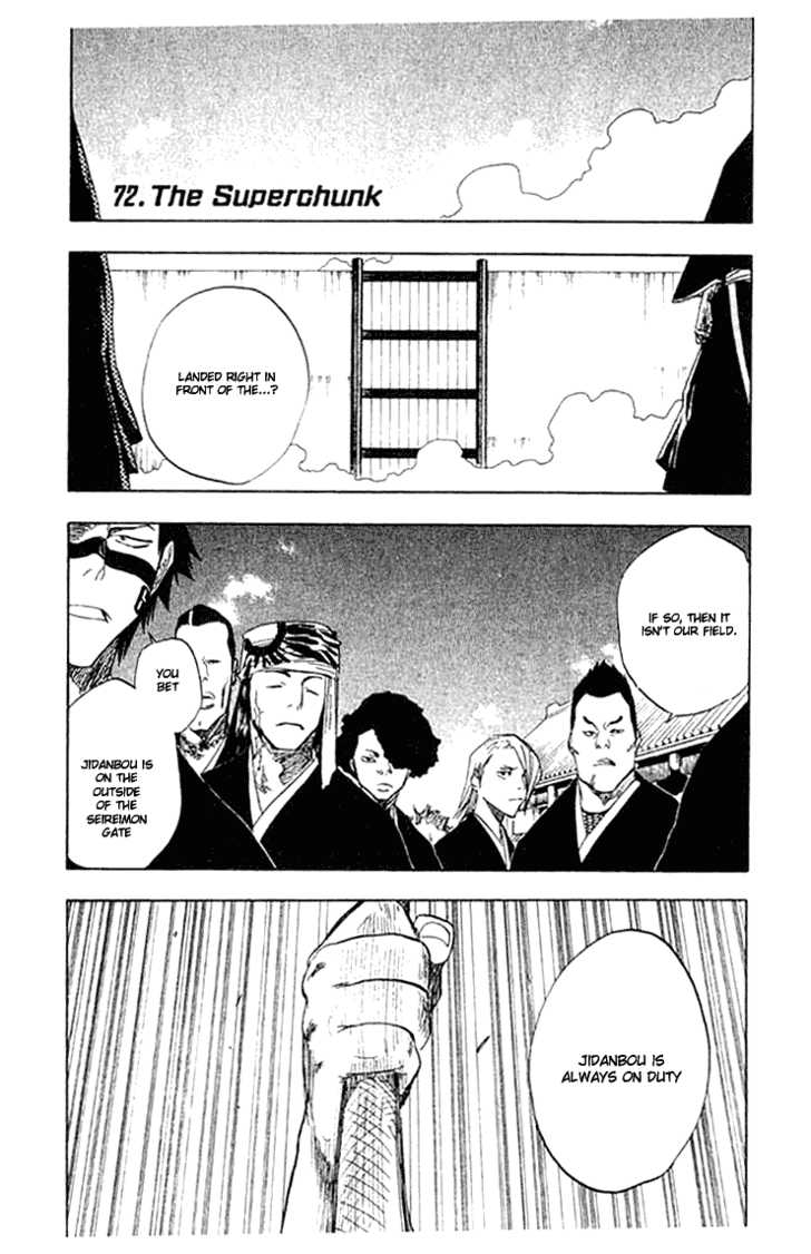Bleach 72 Page 1