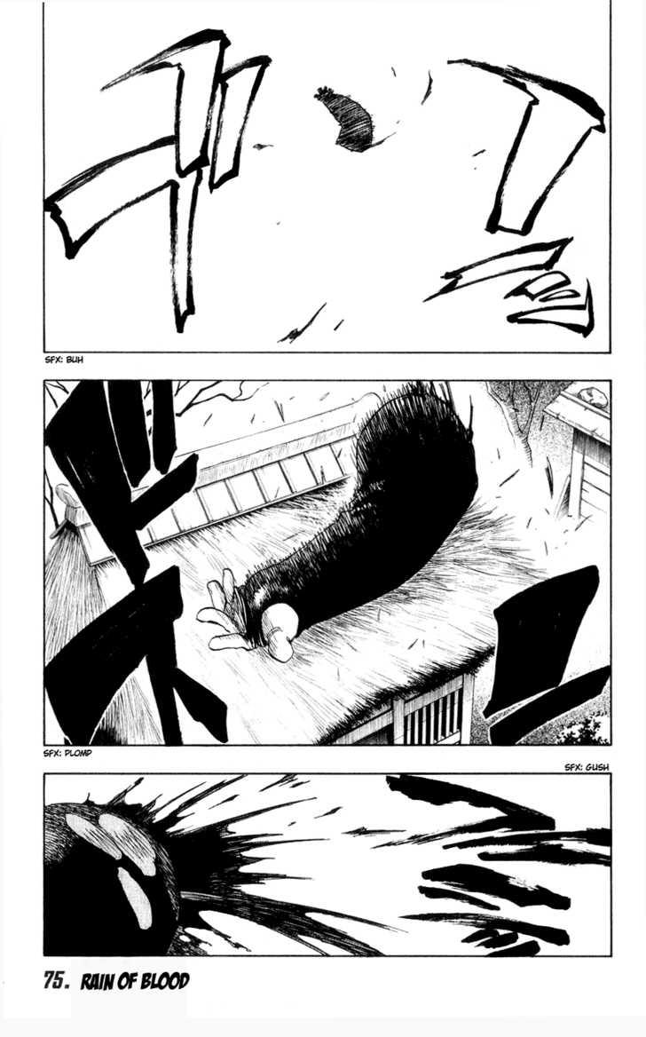 Bleach 75 Page 1