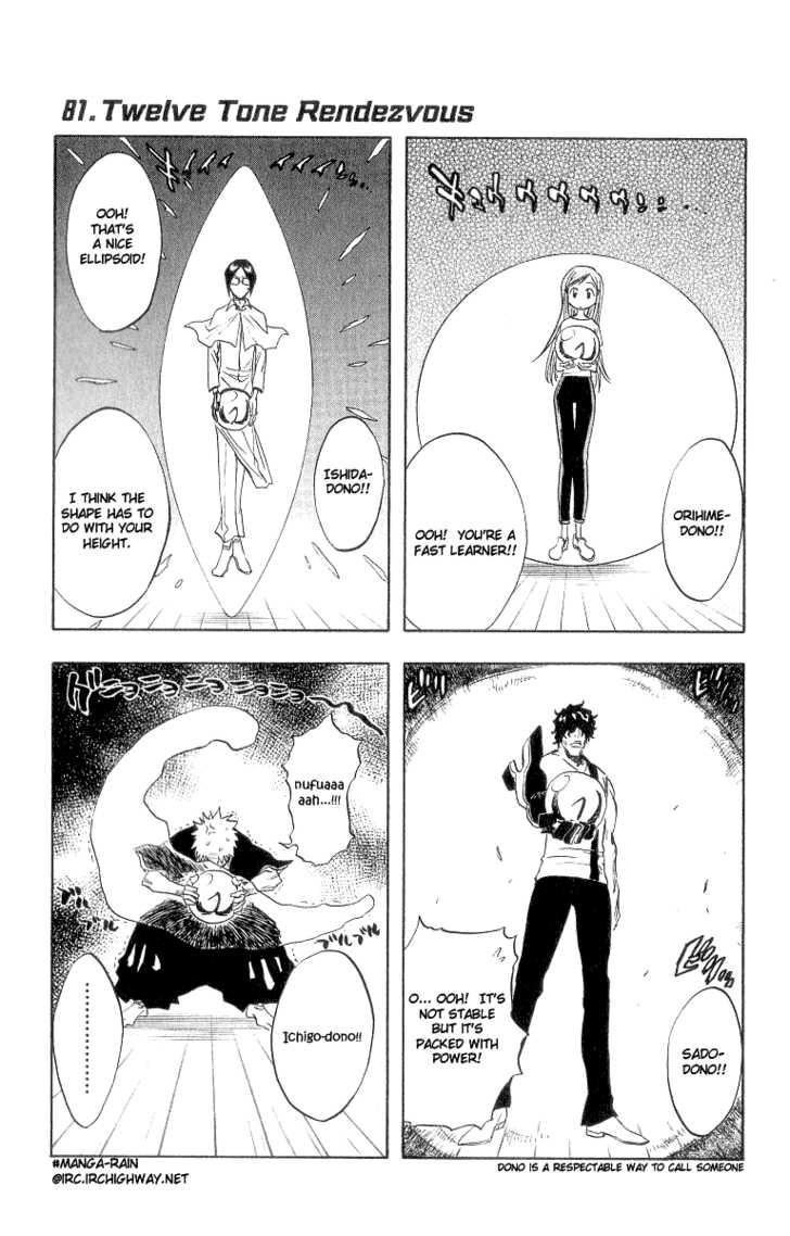 Bleach 81 Page 1