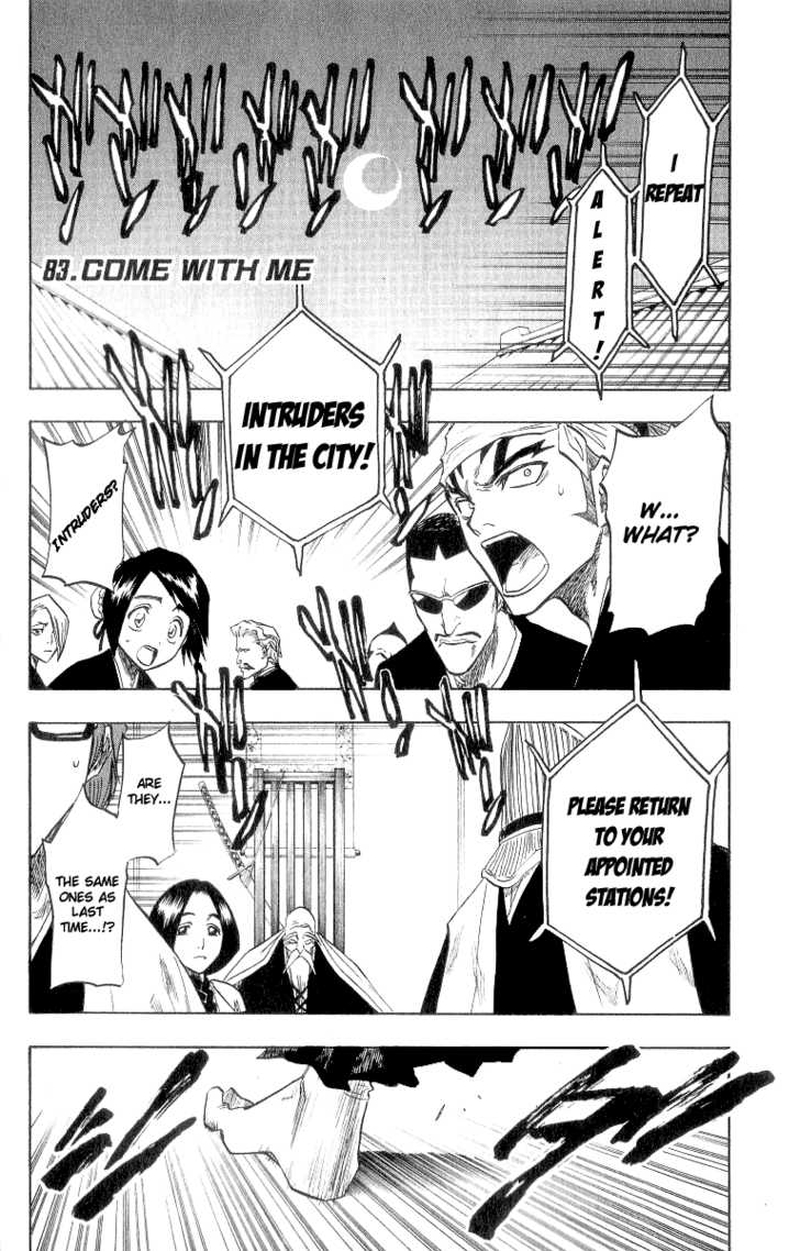 Bleach 83 Page 1