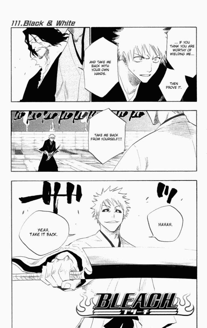 Bleach 111 Page 1