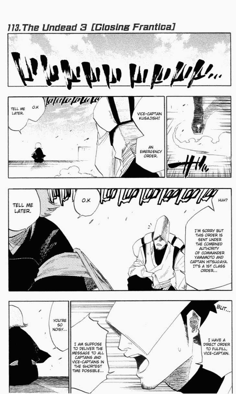 Bleach 113 Page 1