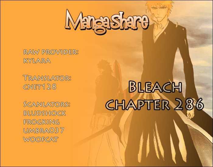 Bleach 286 Page 1
