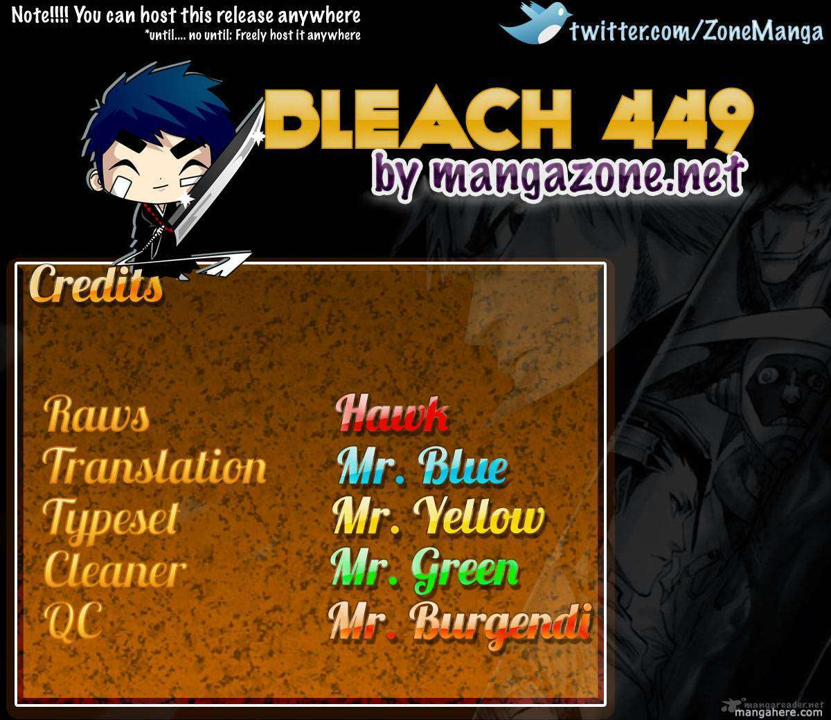 Bleach 449 Page 1