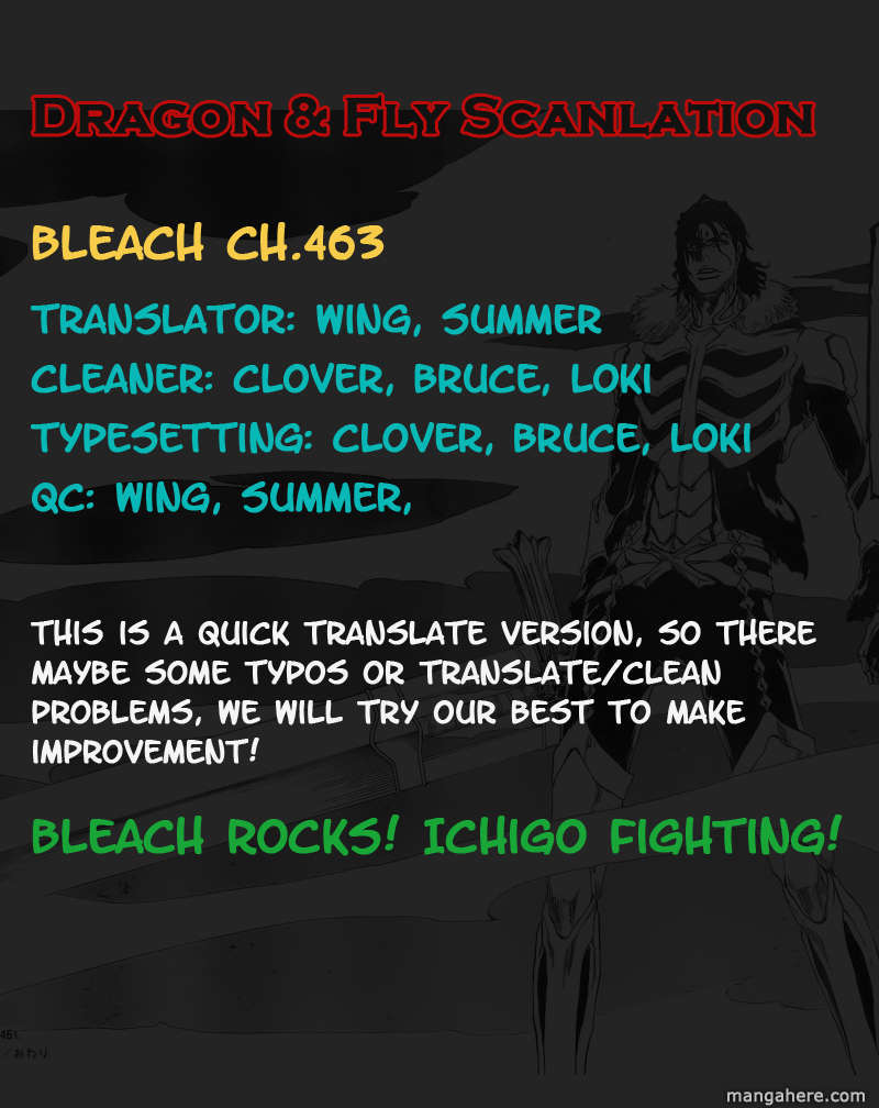 Bleach 463 Page 1