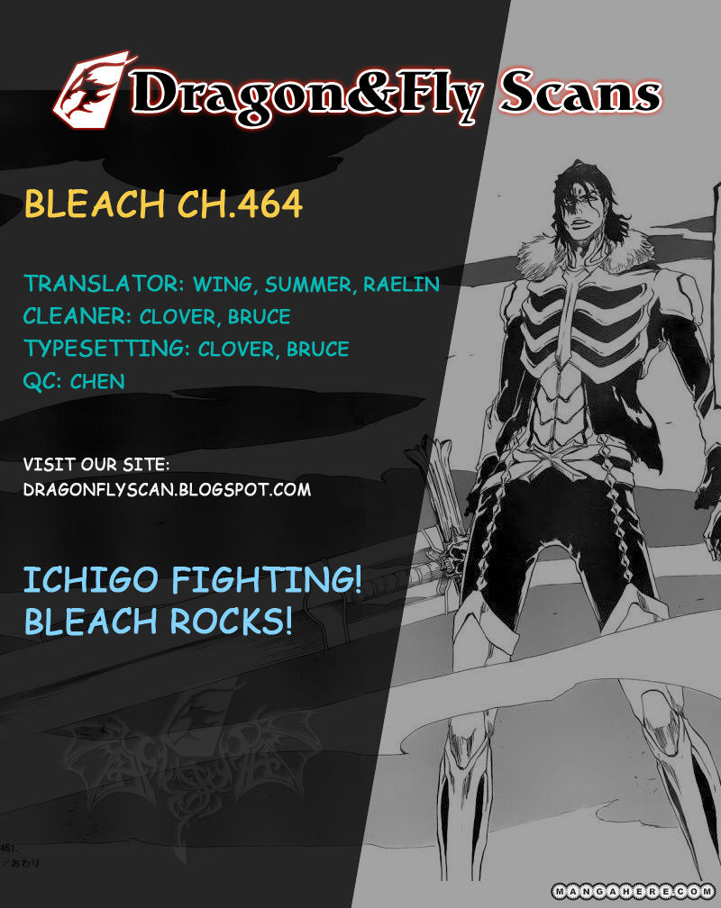 Bleach 464 Page 1