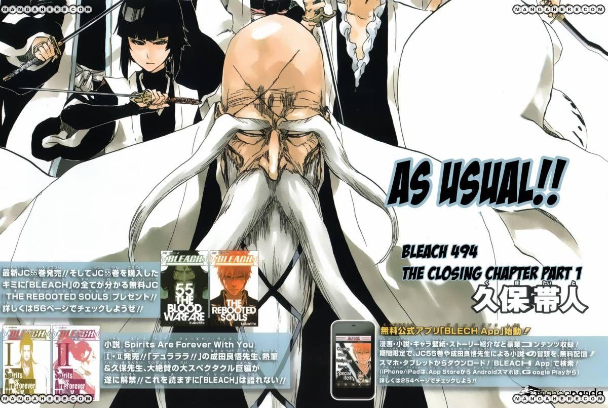 Bleach 494 Page 2