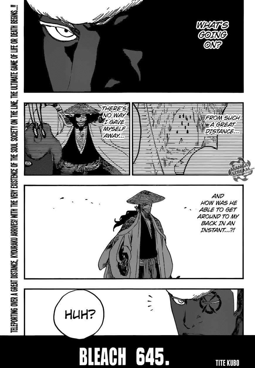 Bleach 645 Page 1