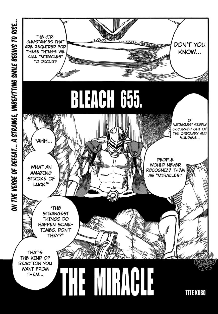 Bleach 655 Page 1