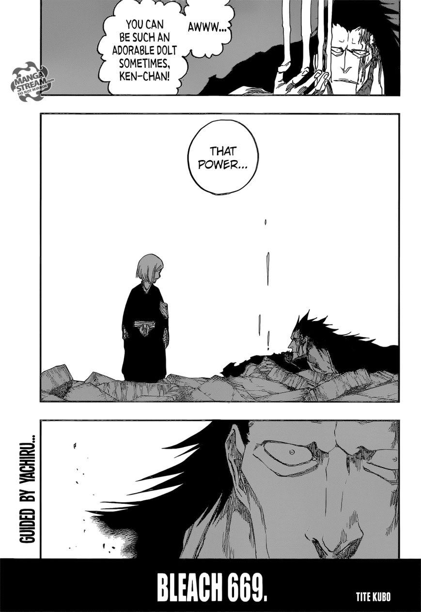 Bleach 669 Page 1