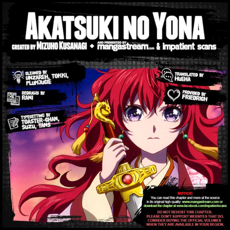 Akatsuki No Yona 167 Page 2