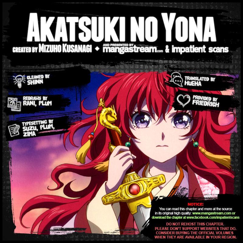 Akatsuki No Yona 172 Page 2