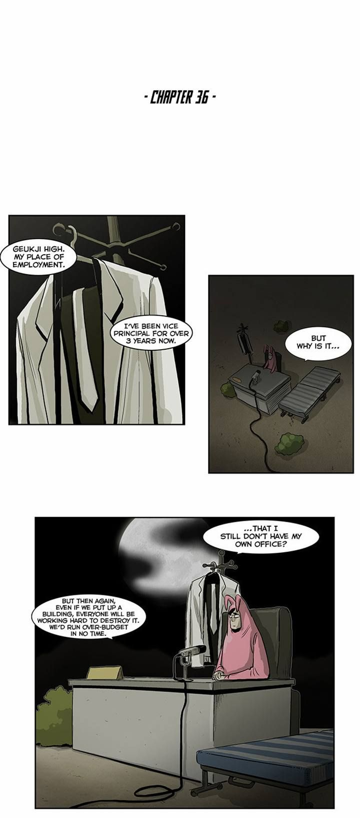 Special Martial Arts Extreme Hell Private High School 36 Page 1