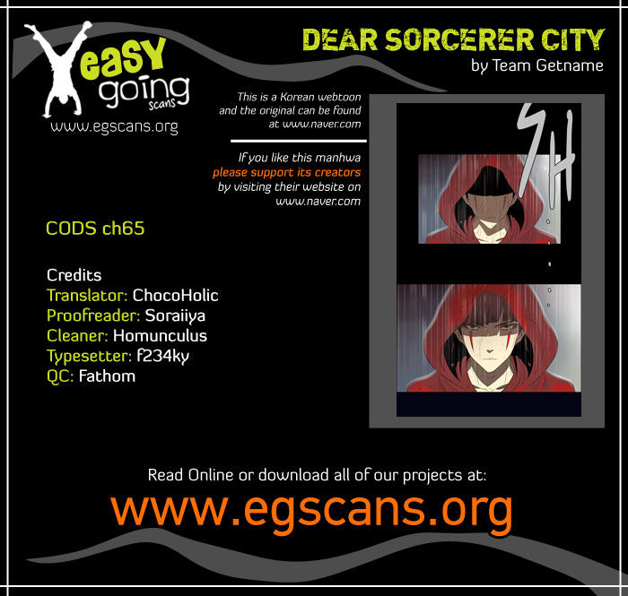 City of Dead Sorcerer 65 Page 1