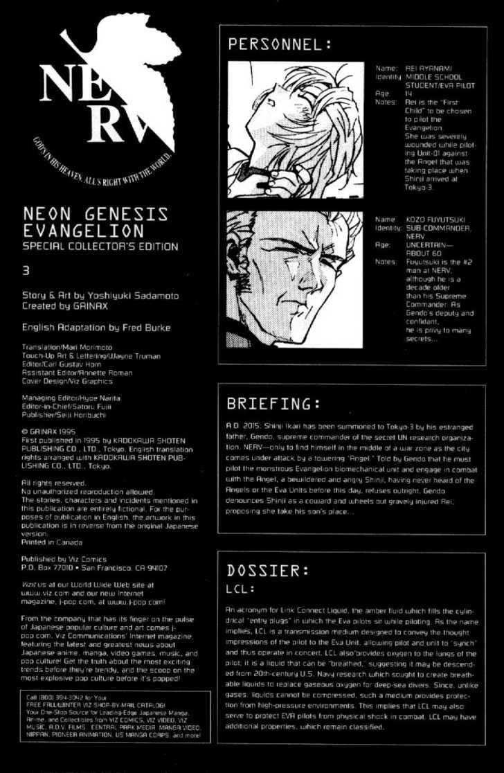 Neon Genesis Evangelion 3 Page 2